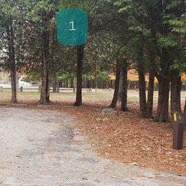 1 Wolf Den campground at Mashamoquet Brook SP