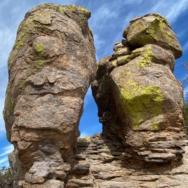 Rock Formations at the top of the mountain