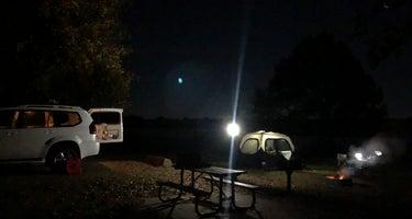 West Lake Crockett Campground
