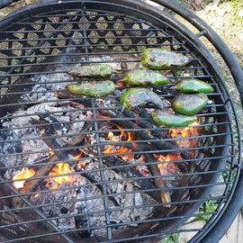 Fire roasted jalepenos