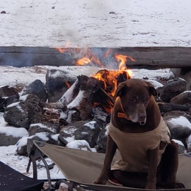 Primitive fire pits