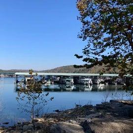 Lake and marina