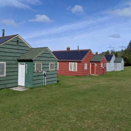 Some of the cabins available for rent