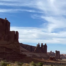 Nearby Arches National Park