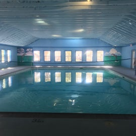 Indoor Pool Closed on Mondays.