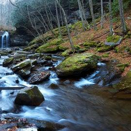 Upper Falls of Seneca Creek