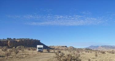 BLM dispersed camping / Zia Pueblo