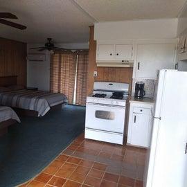 Cozy efficiency kitchenette