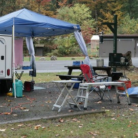 Our setup at Site #3.