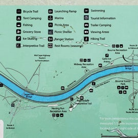 A brief overview map of the Cape Cod Canal area