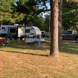 What a spacious campsite we had