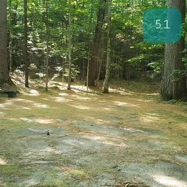 51 Campton Campground, WMNF