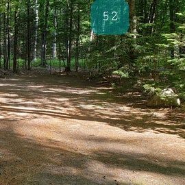 52 Campton Campground, WMNF