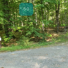 50 Campton Campground, WMNF