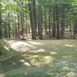 36 Campton Campground, WMNF