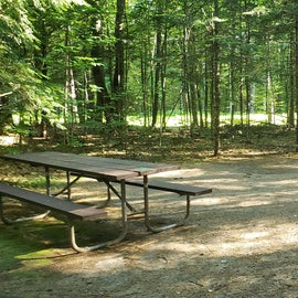43 Campton Campground, WMNF