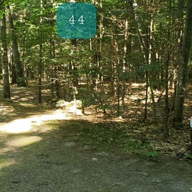 44 Campton Campground, WMNF