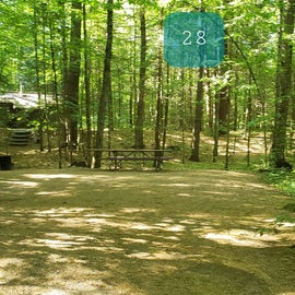 28 Campton Campground, WMNF