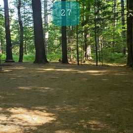 27 Campton Campground, WMNF