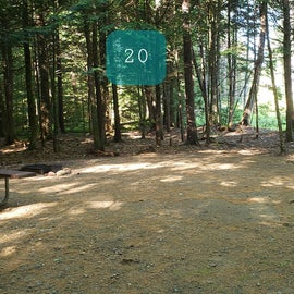 20 Campton Campground, WMNF