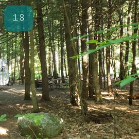 18 Campton Campground, WMNF