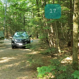 17 Campton Campground, WMNF