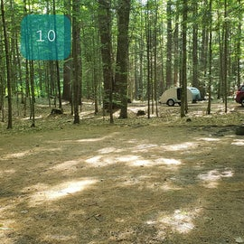 10 Campton Campground, WMNF