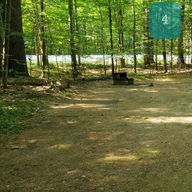 4 Campton Campground, WMNF