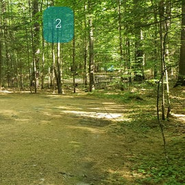 2 Campton Campground, WMNF