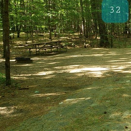 32 Campton Campground, WMNF