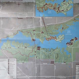 Reservoir map