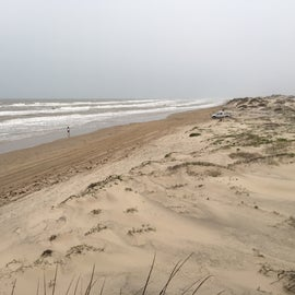 Looking southeast from the dunes.