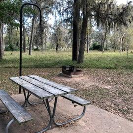 Campsite table