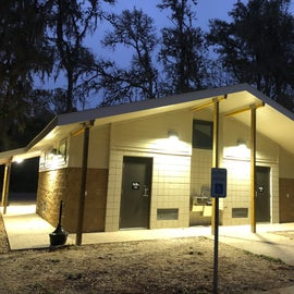 New FHU loop shower/toilet facility