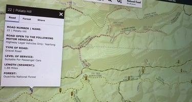 Ouachita National Forest Fourche Mountain