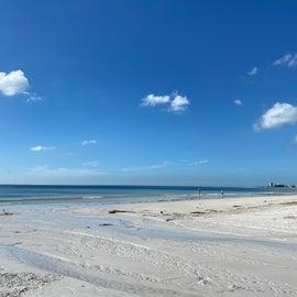 Siesta Key Beach- about 20 minutes away- best beach in continental US