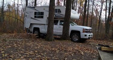 Saint Croix State Forest Boulder Campground