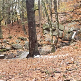Trap Falls is a short drive away with a picnic area