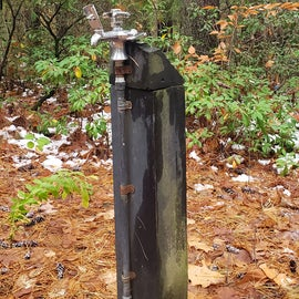 Water is available, but no hookups