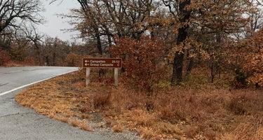 Wichita Mountains Wildlife Refuge Campground