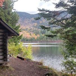 Pondside shelter Sawyer Pond