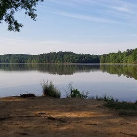 This is the lake at the state park.