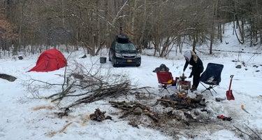 Gandy Creek Dispersed Camping
