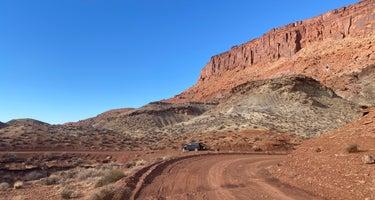 Blue Notch Canyon Primitive - Glen Canyon National Recreation Area