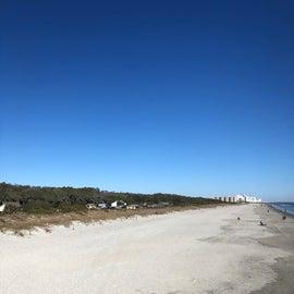 Myrtle Beach State Park Beach