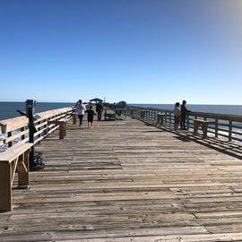 Pier at Myrtle Beach State Park