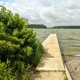 Nice big reservoir.  The water was downright warm in July.