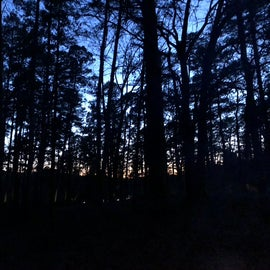 Sunset from the campsite
