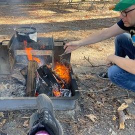 Campfire biscuits