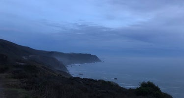 Highway 1 Pull Off - Dispersed Camping Near Stinson Beach